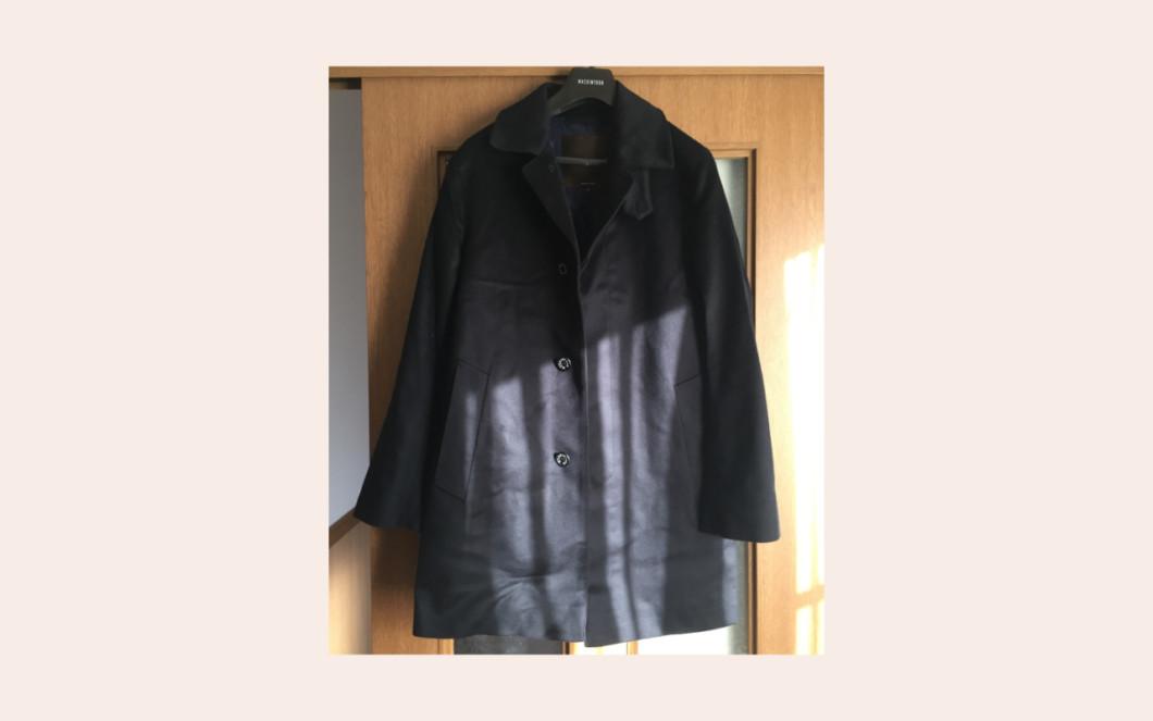 マッキントッシュのウールコート