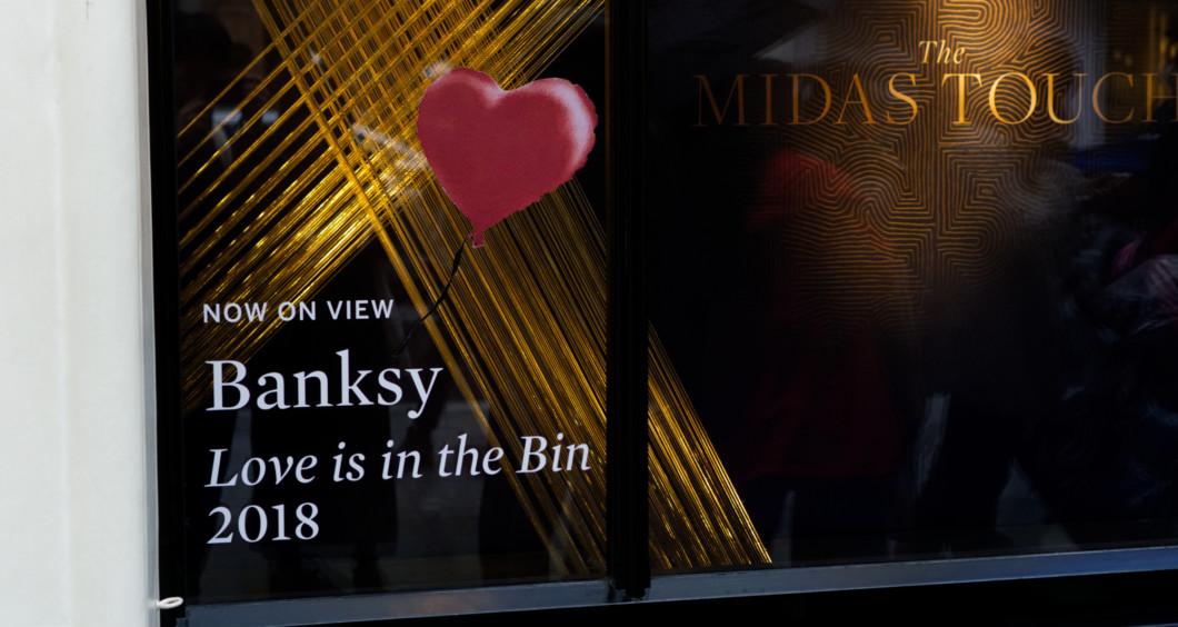 Love is in the bin(愛はゴミ箱の中に)