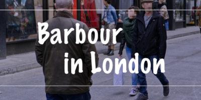 ロンドンのバブアー事情を紹介