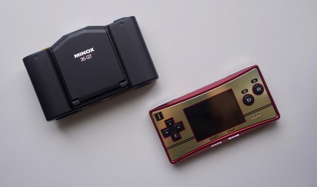 minox 35 GT & gameboy micro